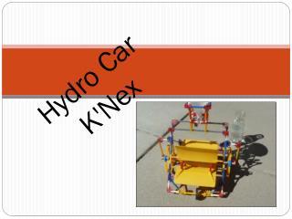 Hydro Car K'Nex