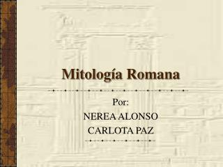 Mitolog�a Romana