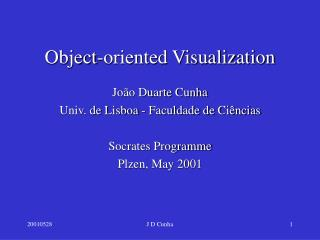 Object-oriented Visualization