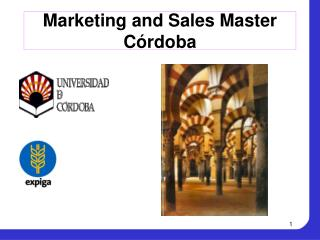 Marketing and Sales Master  Córdoba