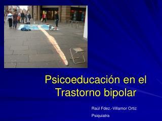 Psicoeducación en el Trastorno bipolar
