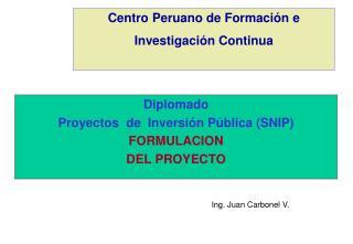 Centro Peruano de Formación e Investigación Continua