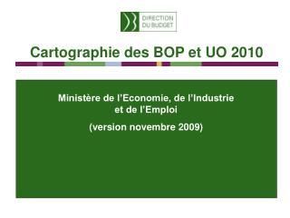 Minist�re de l�Economie, de l�Industrie et de l�Emploi (version novembre 2009)
