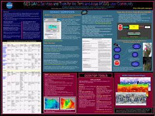 NASA Goddard Space Flight Center, Goddard Earth Sciences Distributed Active Archive Center,Greenbelt, MD, 20771