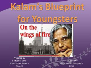 Kalam's  Blueprint  for  Youngsters