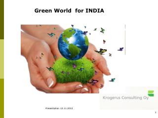 Green World  for INDIA