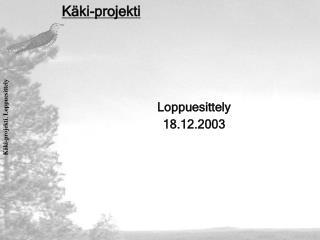 Käki-projekti