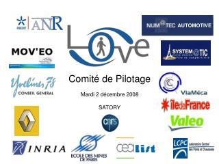 Comité de Pilotage Mardi 2 décembre 2008 SATORY
