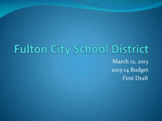 Fulton City School District