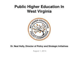 Public Higher Education In  West Virginia