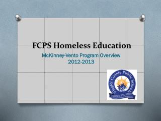 FCPS Homeless Education