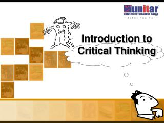 Introduction to  Critical Thinking