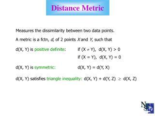 Distance Metric