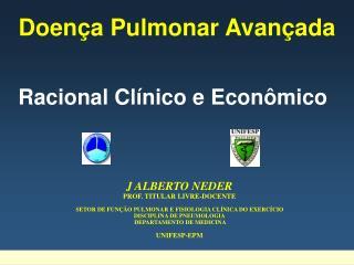 Doença Pulmonar Avançada