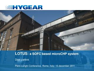 LOTUS:  a SOFC based microCHP system