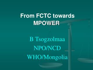 From FCTC towards MPOWER