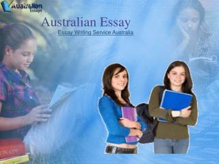 Essay writing Service- Australian essay