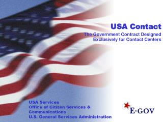 USA Contact  The Government Contract Designed Exclusively for Contact Centers