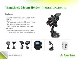 * Suitable for any MP3, MP4, Mobile, GPS, PDA etc. * Fit for devices width from 35mm to 105mm