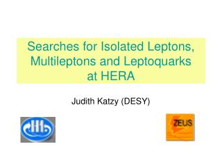 Searches for Isolated Leptons, Multileptons and Leptoquarks   at HERA