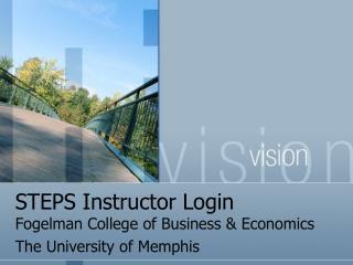 STEPS Instructor Login