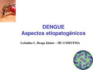 DENGUE Aspectos etiopatogênicos