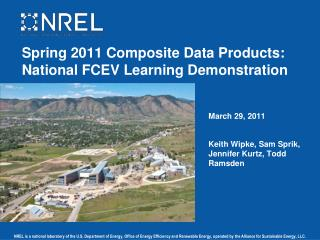 Spring 2011 Composite Data Products: National FCEV Learning Demonstration
