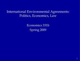 Economics 331b Spring 2009