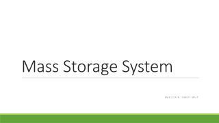 Mass Storage System
