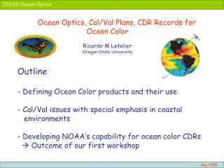CIOSS Ocean Optics