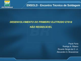 ENSOLD - Encontro Técnico de Soldagem