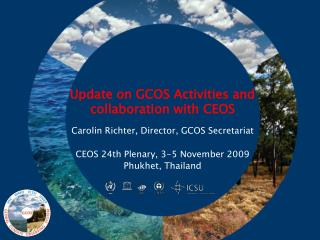 Update on GCOS Activities and collaboration with CEOS