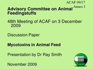 ACAF 09/17 Annex I