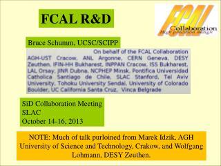 FCAL R&D