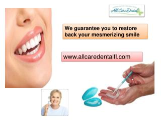 All Care Dental Remedies for teeth whitening