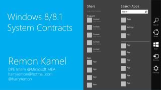 Remon Kamel DPE Intern @ Microsoft MEA harryremon@hotmail @ harryremon