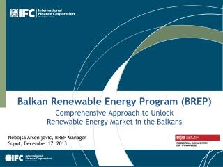 Balkan Renewable Energy Program (BREP)