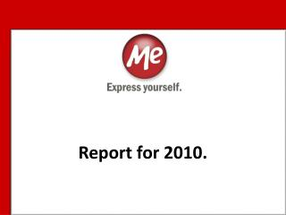 Report for  2010.