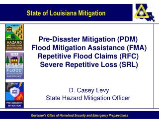 Pre-Disaster Mitigation (PDM)  Grant Program Guidance Overview CFDA #97.017