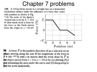 Chapter 7 problems