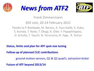 News from ATF2