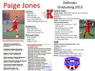 Paige Jones