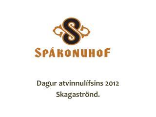 Dagur atvinnulífsins 2012 Skagaströnd.