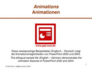 Animations Animationen