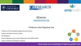 Prognostic Factors of Ovarian Cancers