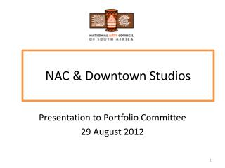 NAC & Downtown Studios