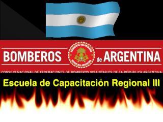 Escuela de Capacitaci n Regional III