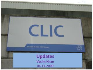 Updates Vasim Khan 04.11.2009