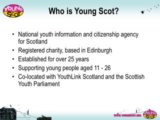 Who is Young Scot?