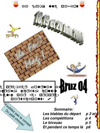 18,19 et 20 Juin 2004